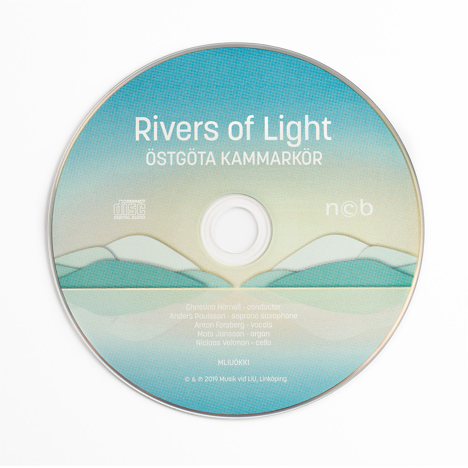 CD-skiva Östgöta Kammarkör – Rivers Of Light